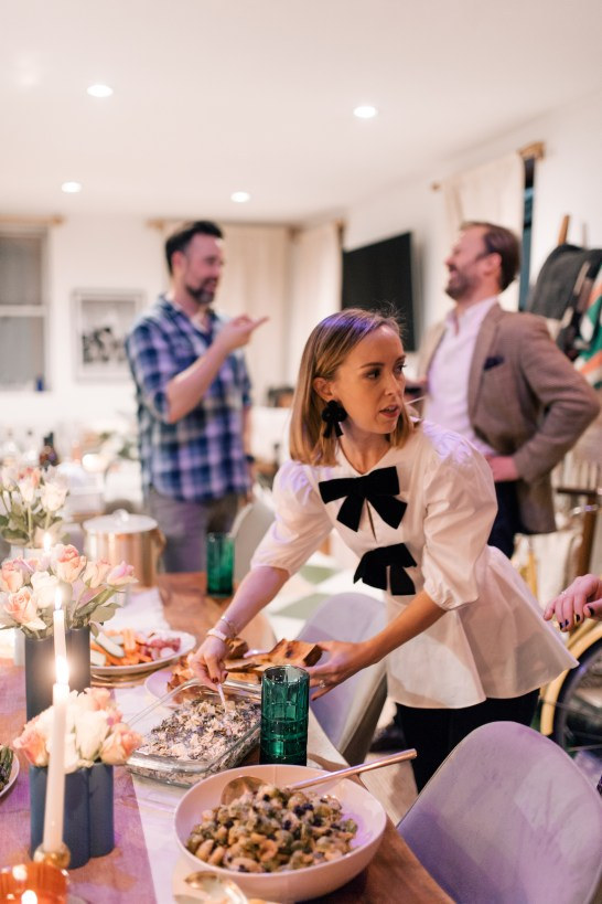 the perfect friendsgiving with philips hue lighting