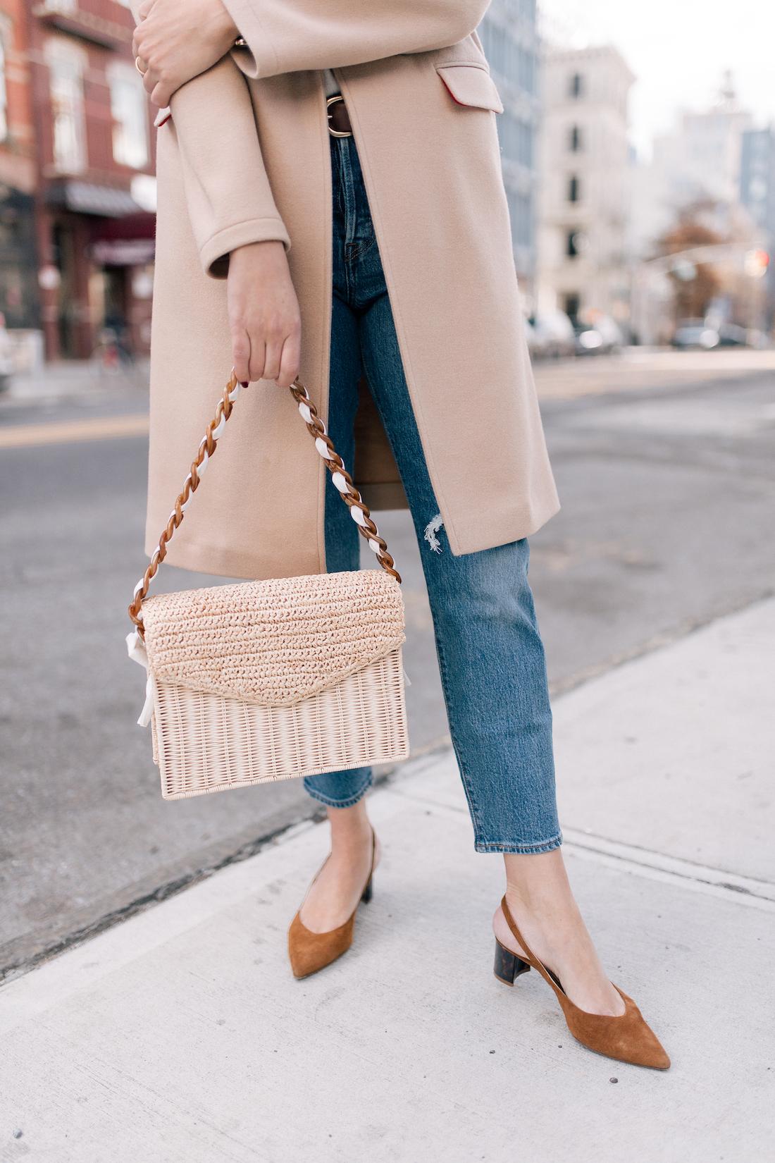 Levi's Jeans // Pamela Munson Bag (c/o) // Sarah Flint Heels // J.Crew Belt
