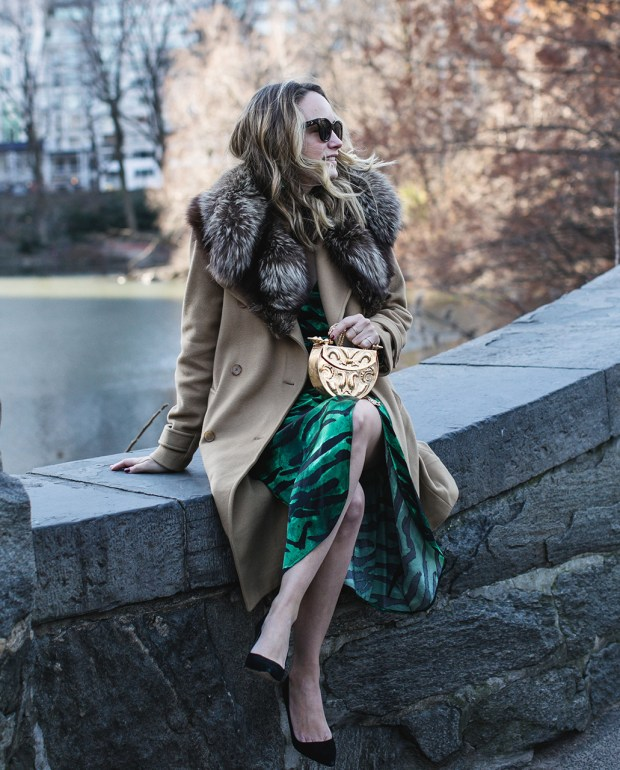 Dressed Up in Central Park.
