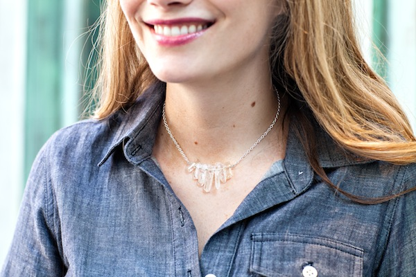 Delicate Crystal Necklace