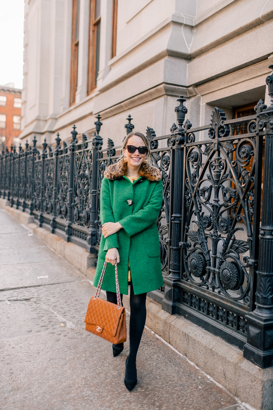 Styling a Summer Dress for Winter by Grace Atwood