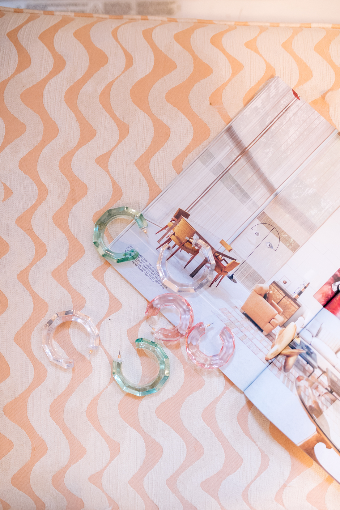 BaubleBar's Candy Colored Lucite Earrings