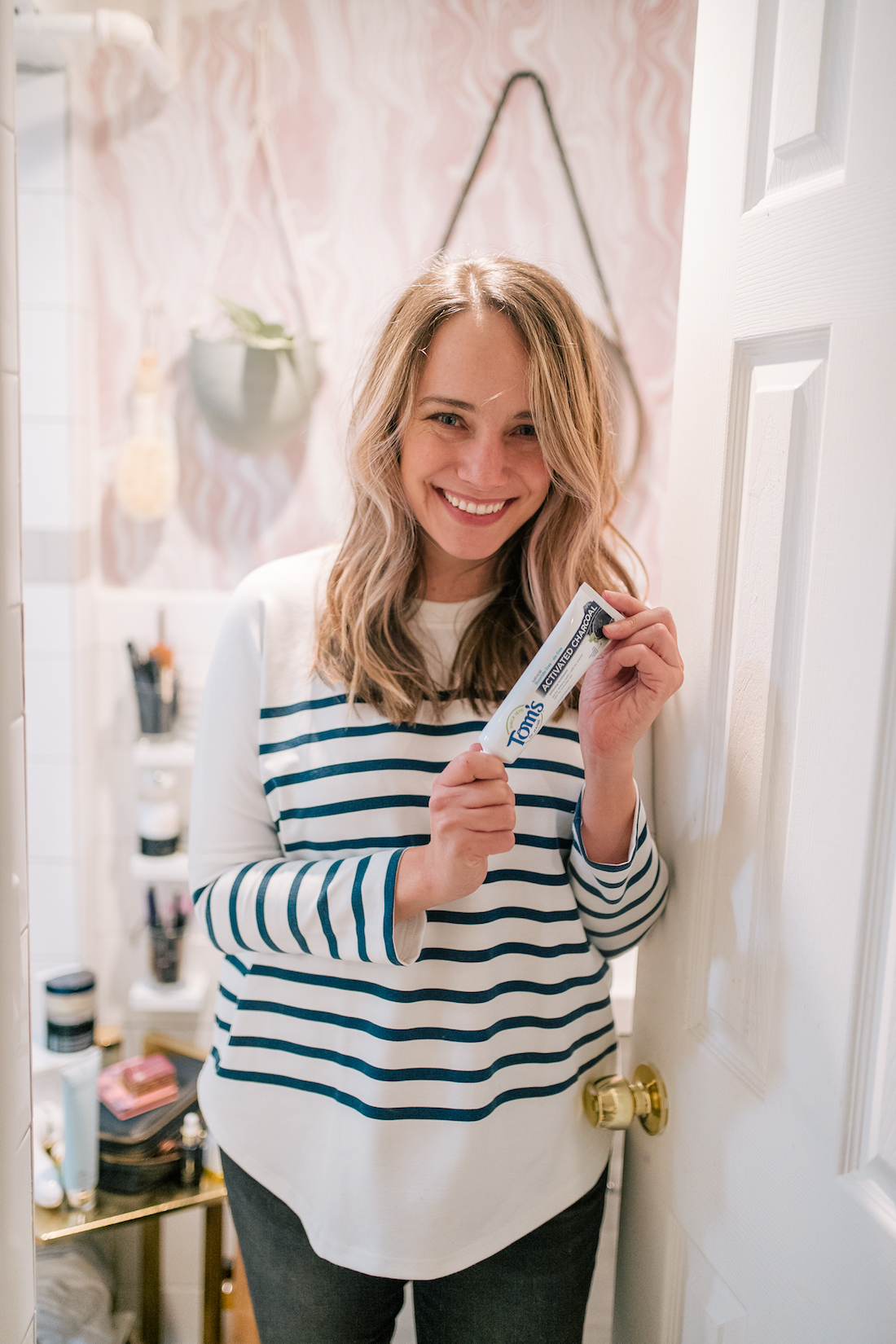 Grace Atwood is featuring Tom's of Maine Charcoal Toothpaste