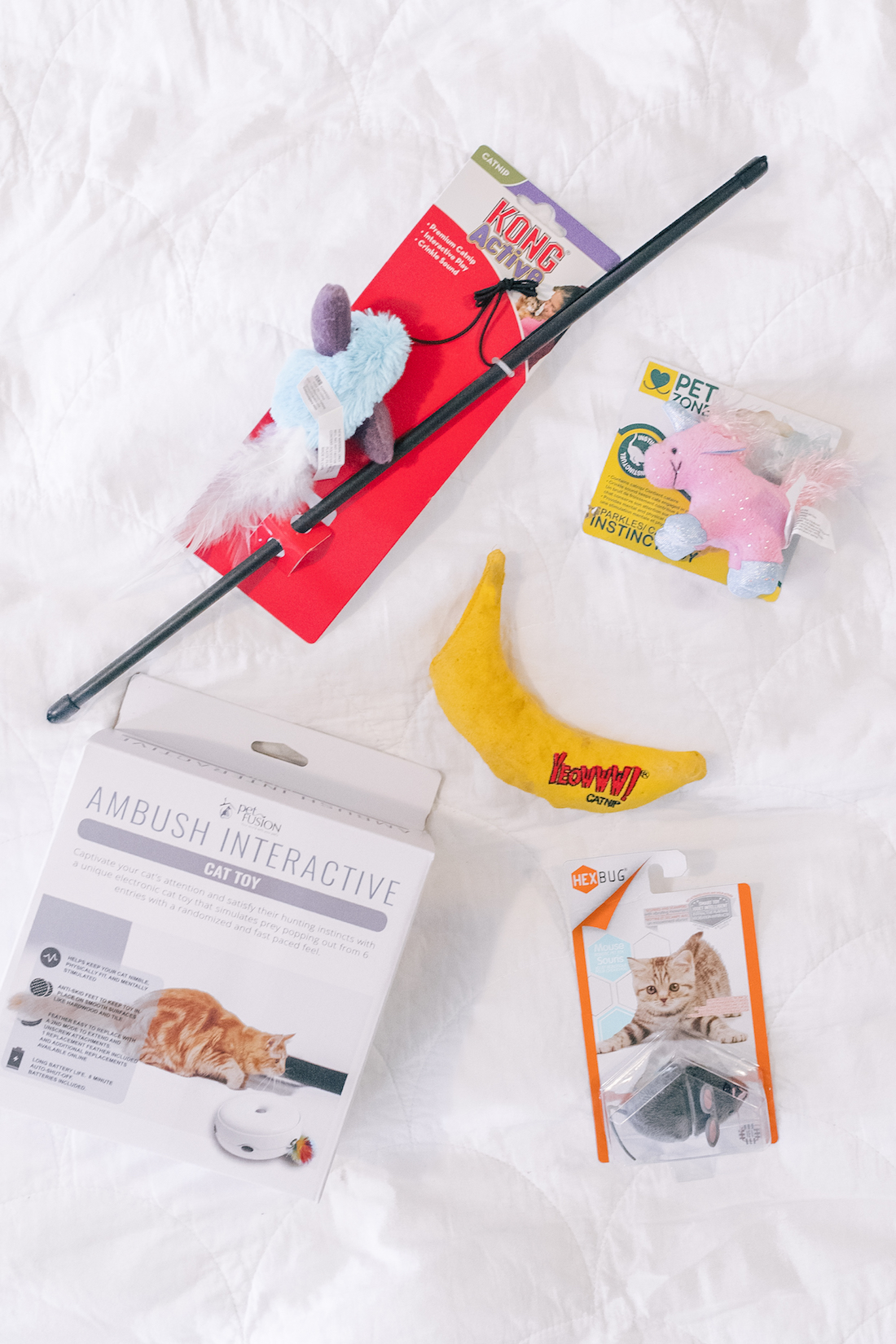 CHEWY CAT TOYS