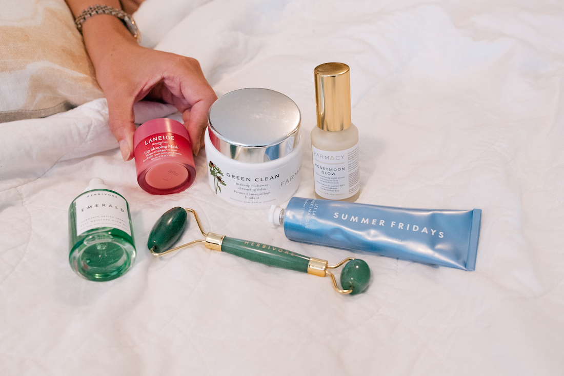 A Bedtime Routine for Glowing Skin by The Stripe