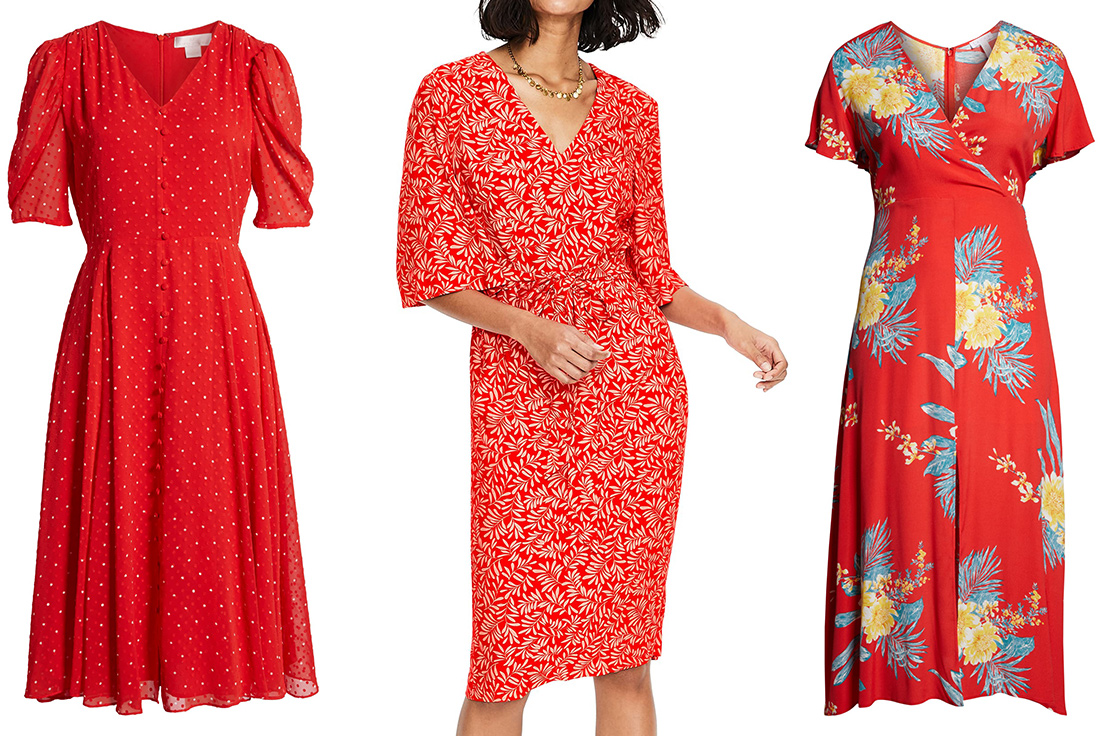 The Best Red Dresses For Spring