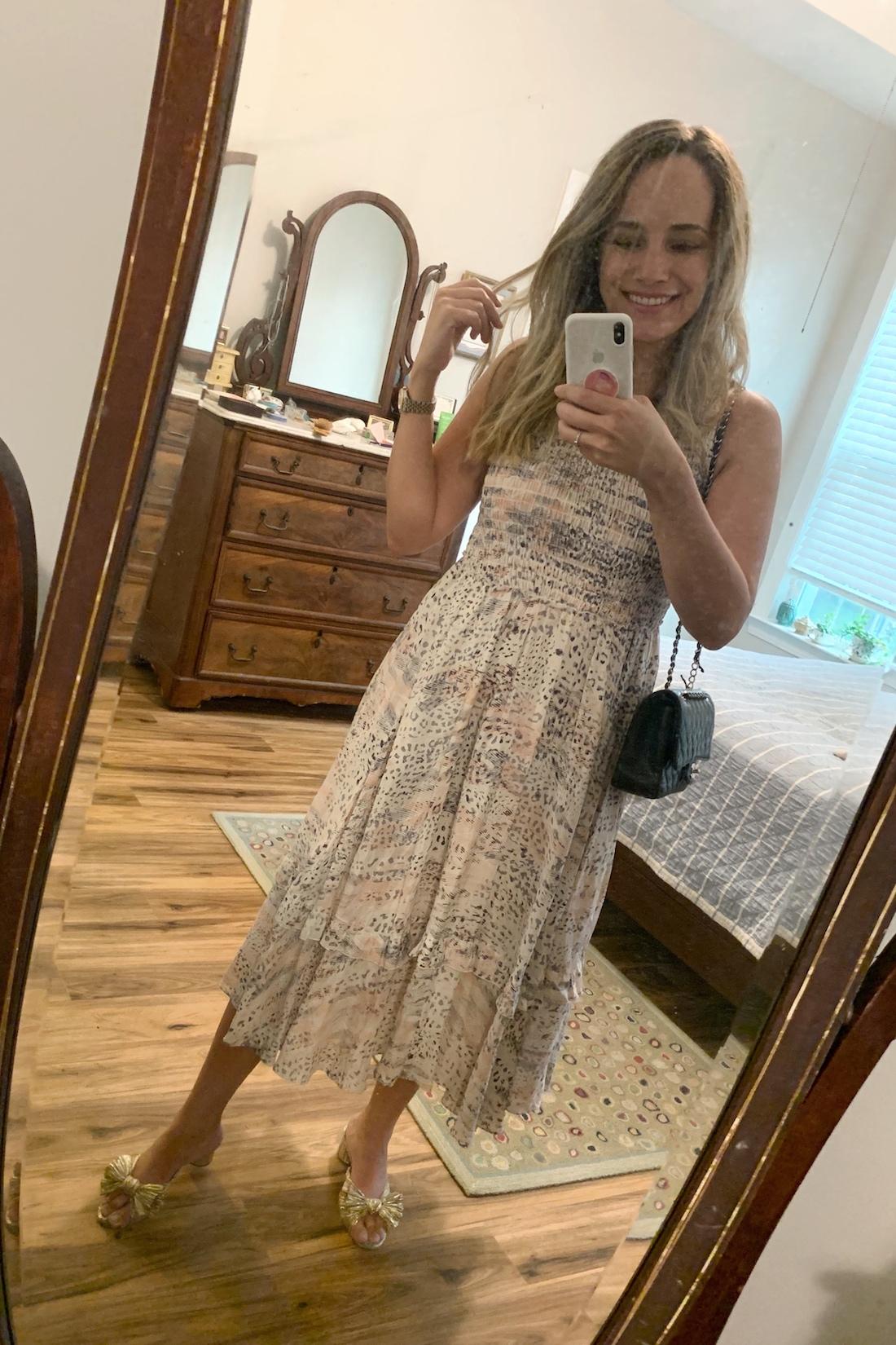 Rebecca Taylor smocked dress