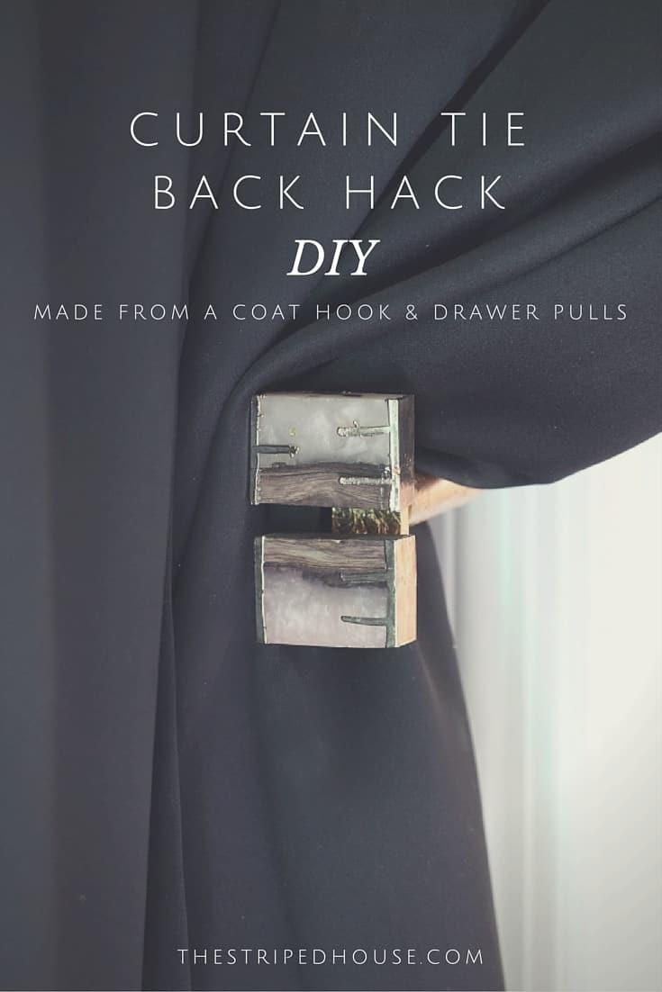 curtain door tie back hack the