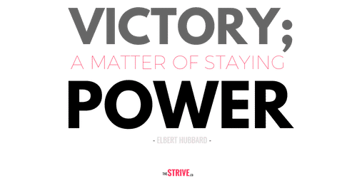 Staying Power Quote