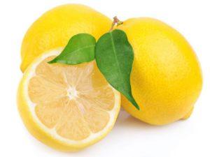 Lemon home remedy