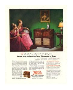 1940s radio ad