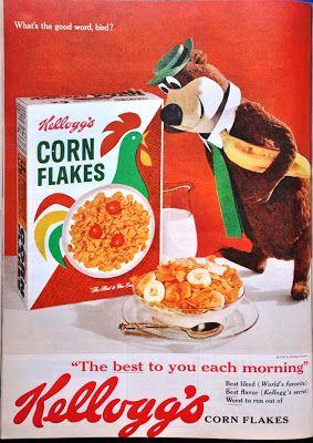 vintage cornflakes ad for cornflake chicken
