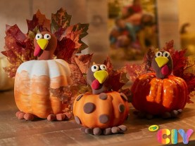 pumpkin turkey crafts