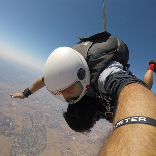 My Experience in the Sky- Skydiving in San Francisco Bay Area, California