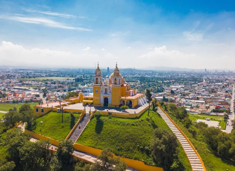 Great Pyramid of Cholula, Puebla