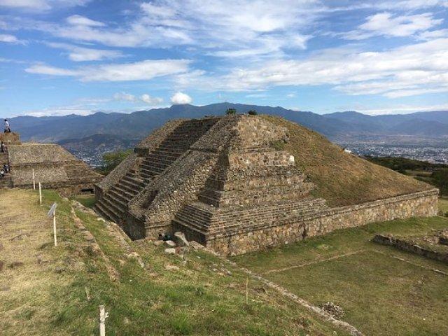 Monte Albán Pyramids,  Oaxaca