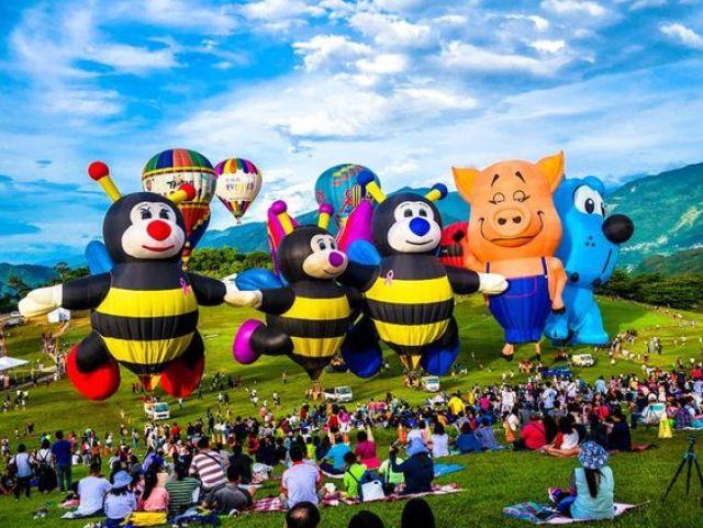 Ferrara Balloon Festival, Italy