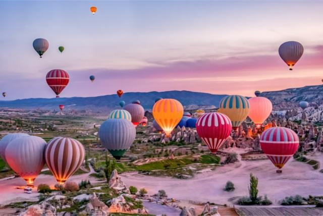 Hot Air Balloon Rides In Cappadocia, Turkey