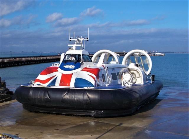 Hovercraft In Portsmouth, United Kingdom