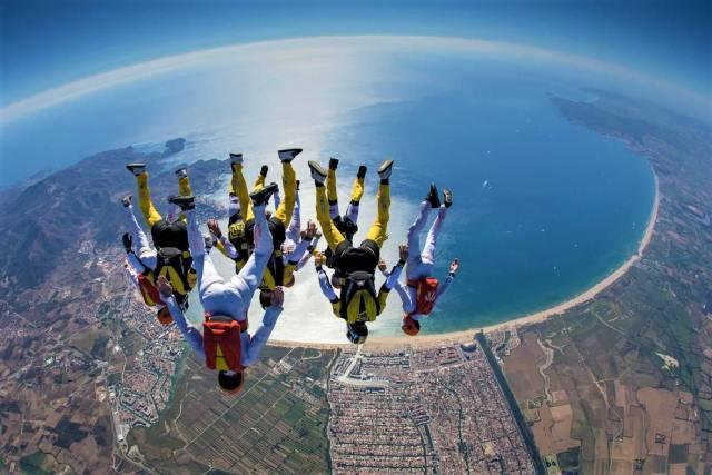 Skydiving in Empuriabrava, Spain