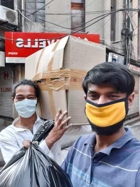 Distribution of Sanitisers