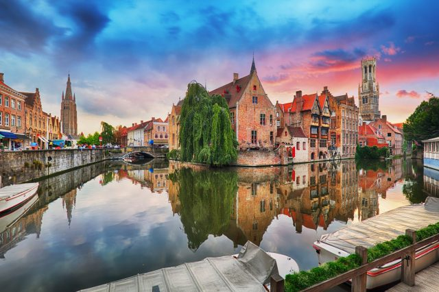 Bruges, Belgium is sinking due to climate change