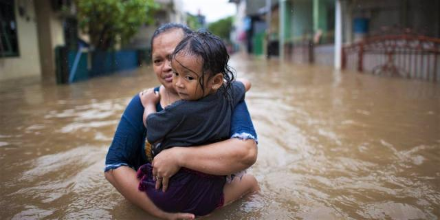 Jakarta is sinking due to climate change