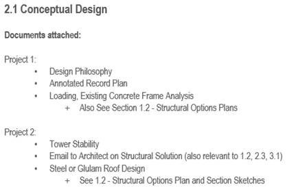 IStructE Core Objective Example
