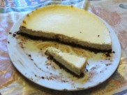 White chocolate cheesecake- Divine chocolate recipe