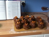 Cinder Toffee cupcakes- Hummingbird Bakery Recipe