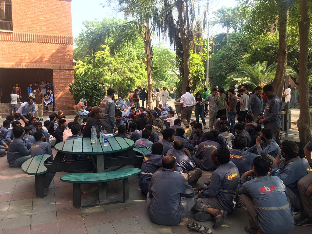 Students-Worker Solidarity: Resisting Subcontracting at LUMS