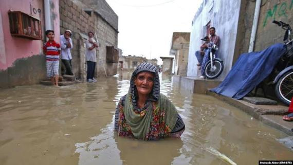 Rainfall and the great class divide of Karachi