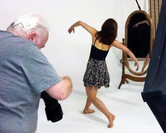Ballerina photography in scottsdale