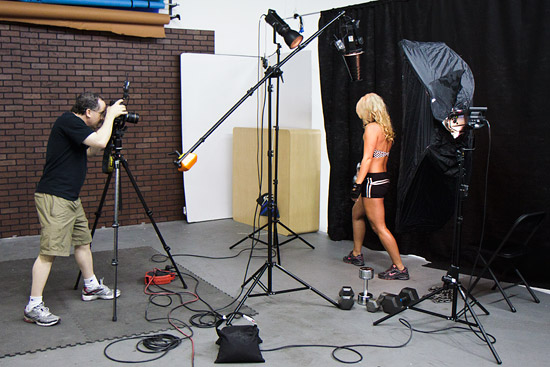 Muscle Photography shoot by Ken Brown at the studio.
