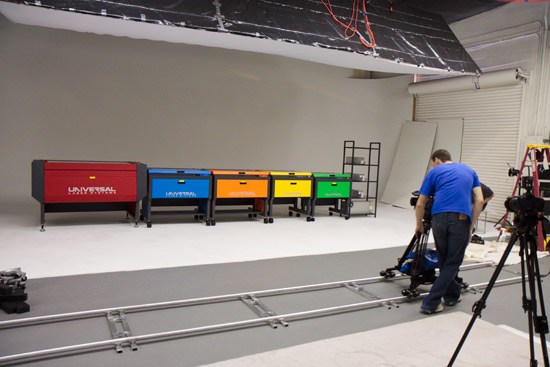 Universal Laser Systems Promotional Video Shoot