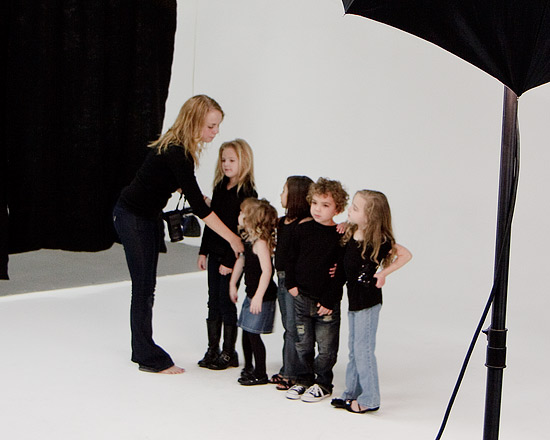Flash Management uses photography rent studio in phoenix young models