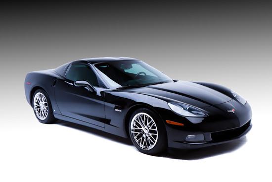 Black Chevrolet Corvette ZR1