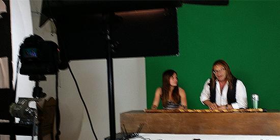 UFOria TV Screentest video studio rental