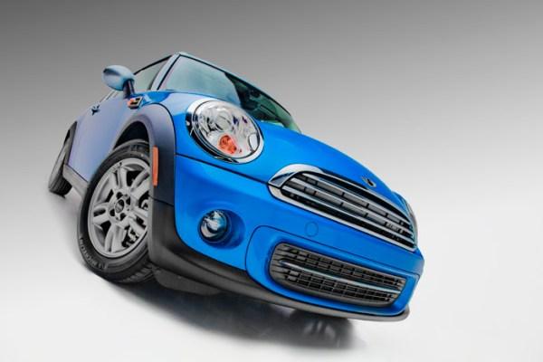 Laser Blue Mini Cooper Clubman
