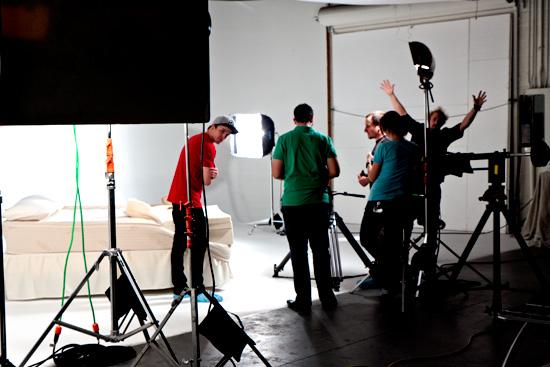 Mattress Video studio rental