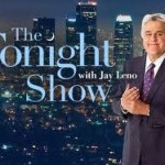 JAY LENO HANDCUFFS HIMSELF TO DESK