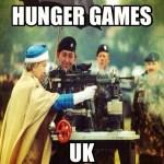 ROYAL FAMILY JOIN HUNGER GAMES: UK