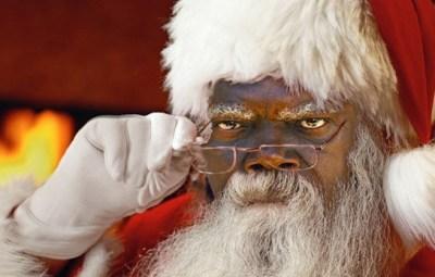 Samuel L. Jackson Santa