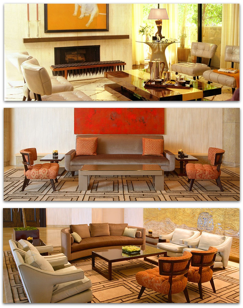 The Great Billy Haines   Contemporary residences  Contemporary interiors created with William Haines