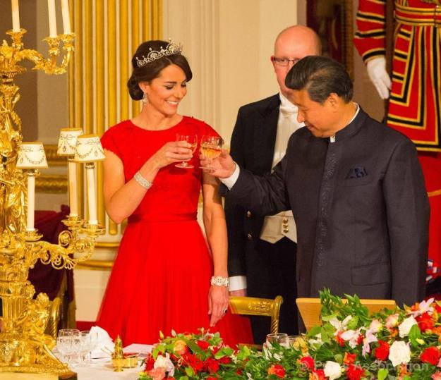 Toast with China's Head of State