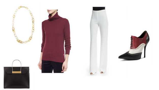 Burgandy Cashmere Sweater