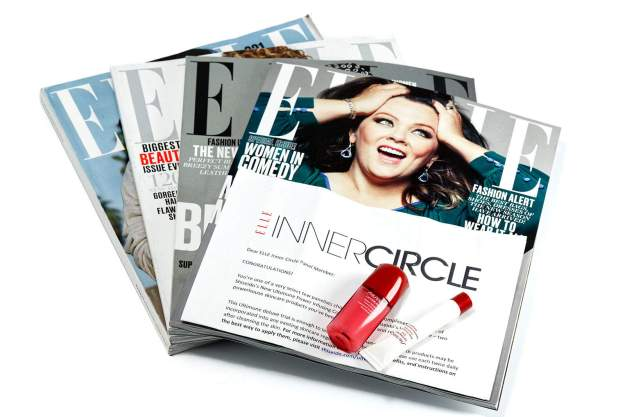 #ELLEInnerCircle Letter Magazines Products