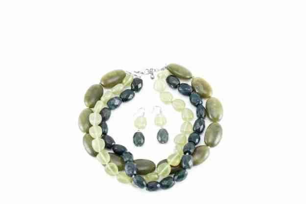 Ann Taylor Necklace & Earrings