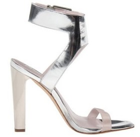 Metallics: BCBGMaxAzria Pacer Sandals, $134.99, zappos.com