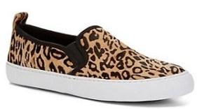 Slip-on Sneakers: Calf Hair Slip-On Sneaker, $98, cwonderstore.com